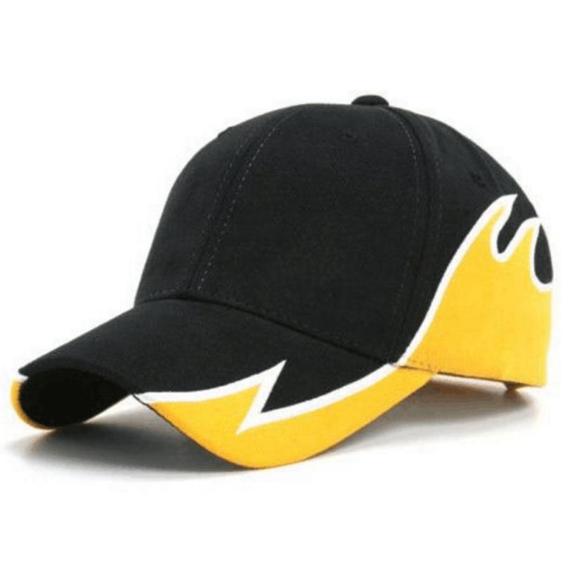 Fashion cotton splicing design sports cap