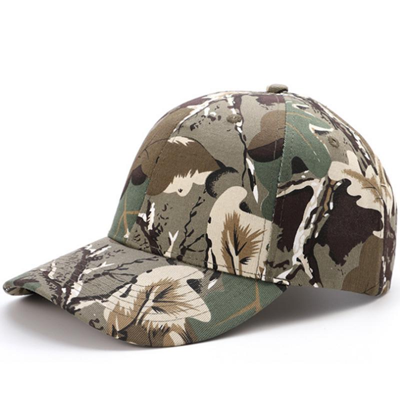 Great quality customized woodland camouflage cotton baseball cap