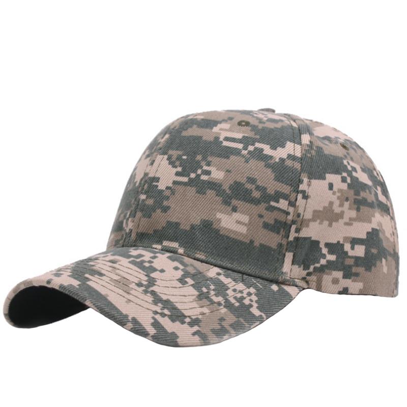 6 panels cotton camo hunting cap