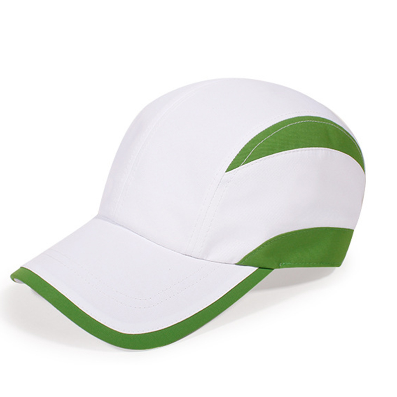 Polyester microfiber cool comfort performance running cap