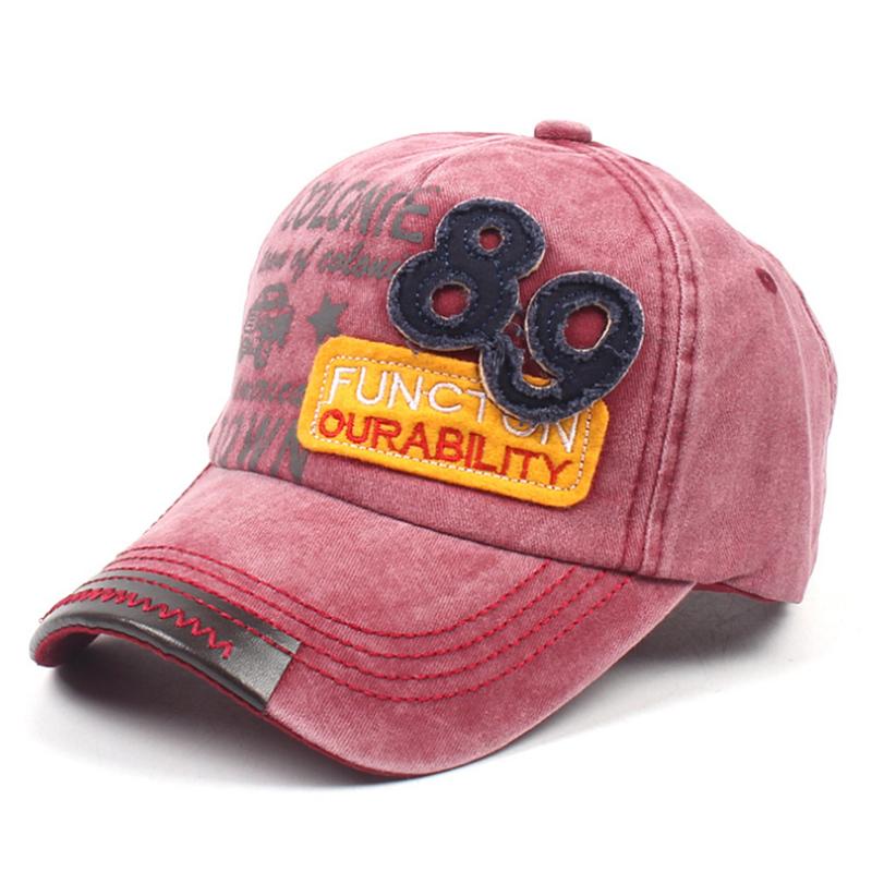 Bespoke fashion design washed cap