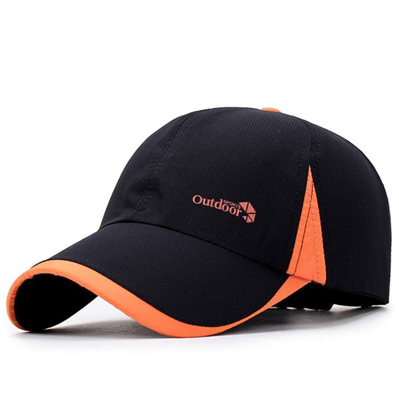 Microfiber fabric dry fit sports cap with printing logo