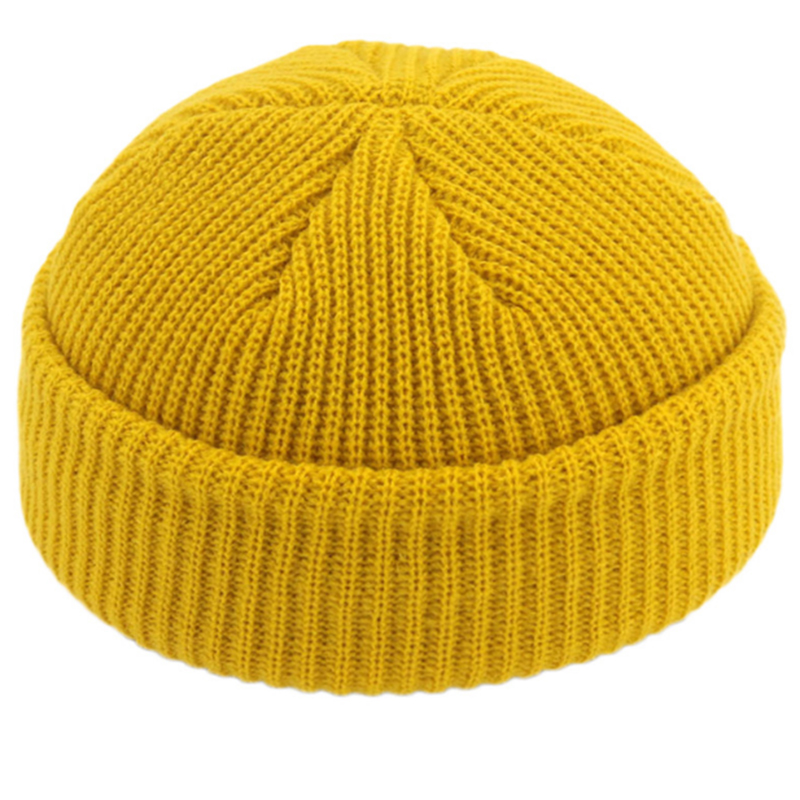 Wholesale acrylic knitted winter skull cap