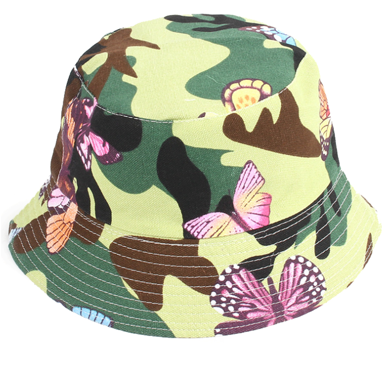 Custom design cotton camouflage fishing hat