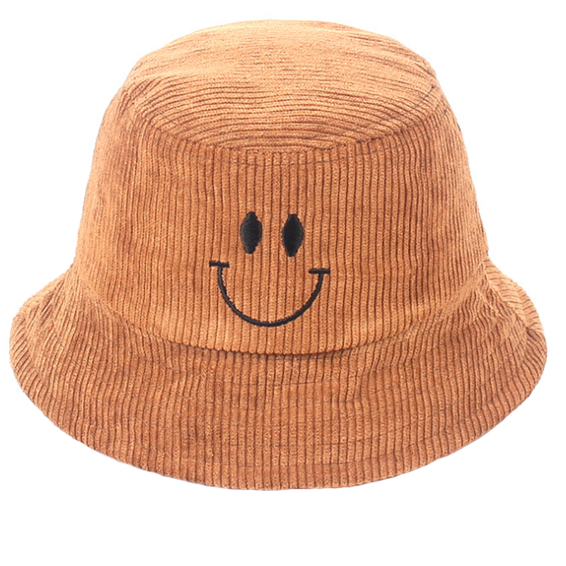 Wholesale corduroy outdoor bucket hat