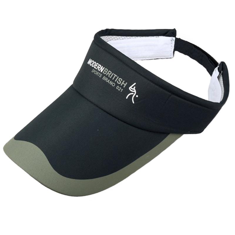 Long brim printing logo golf visor