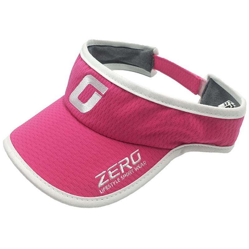 Wholesale promotional women's visor style sports wear