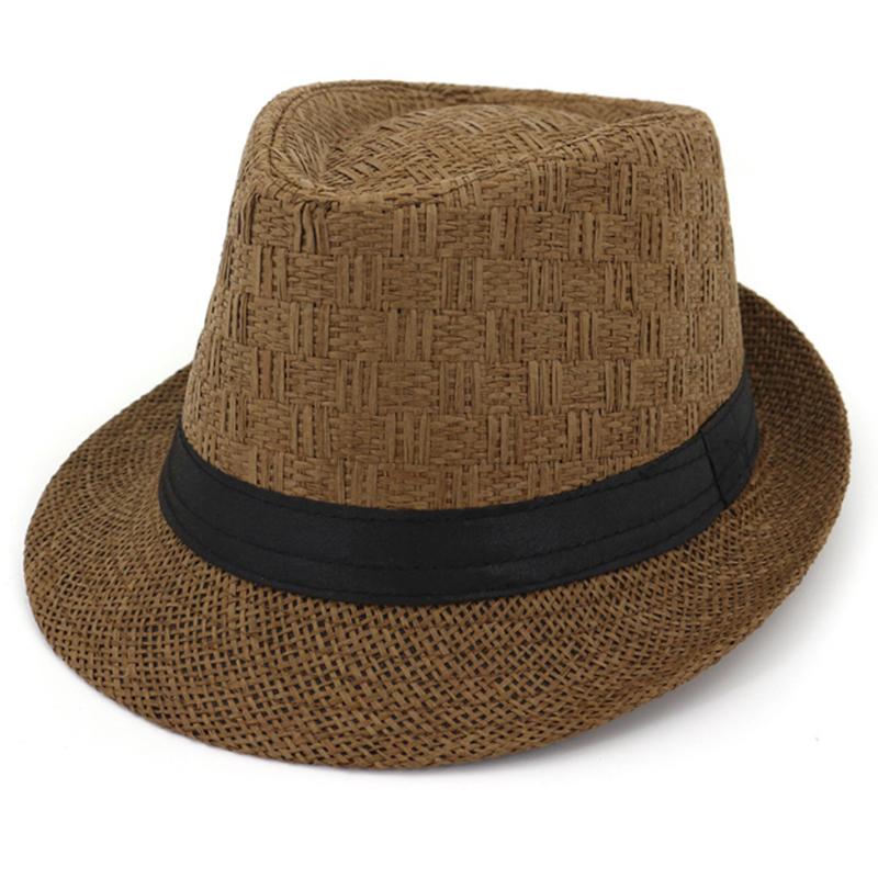 Unisex fashion summer beach trilby fedora hat