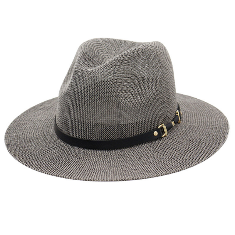 Attractive price wide brim polyester summer panama hat
