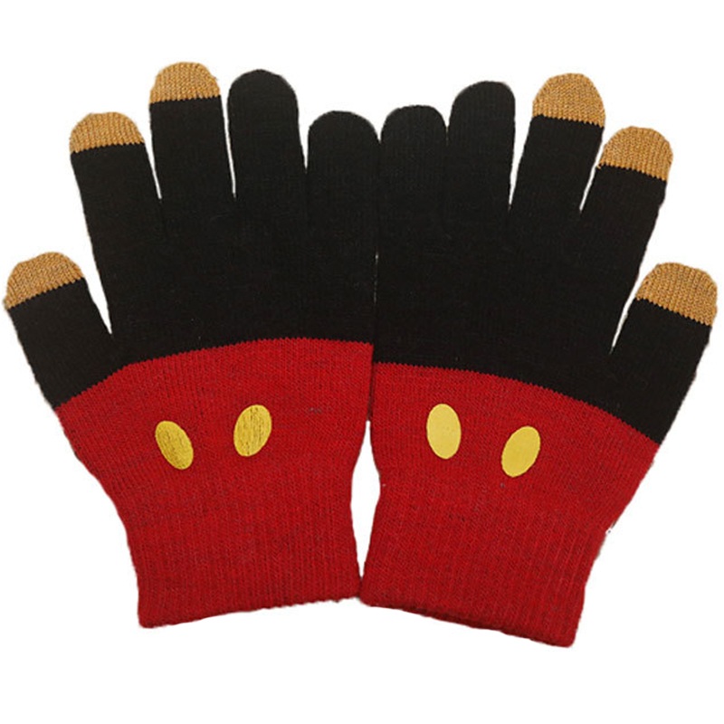 Custom made winter warm magic touch gloves for smart phone